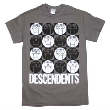 SHIRT THE DESCENDENTS Mascot Milo Punk Rock Band T-Shirt Mens T Shirts O-Neck