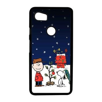 Charlie Brown Christmas Peanuts 001 Google Pixel 2XL Case