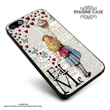 Alice in Wonderland Madhatter Chershire Cat case cover for iphone, ipod, ipad and galaxy series