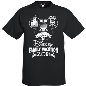 Our Disney Family Vacation Youth T-Shirt 2018