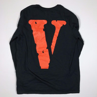Vlone X Nike Complex-Con Exclusive Black Long Sleeve Shirt