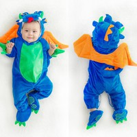 Baby Clothes Newborn Baby Boy Romper Christmas Halloween Jumpsuit Baby Animal Clothes Baby Clothes Winter Girls Rompers