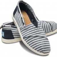 Navy Stripe Nautical Women's Biminis | TOMS.com