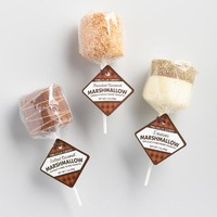 Meville Smores Marshmallow and Rice Treat
