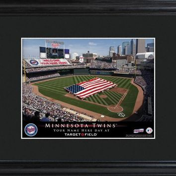 Personalized MLB Stadium Print - Twins