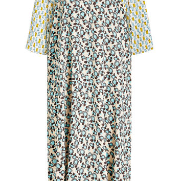 Printed Dress with Silk - Marni | WOMEN | KR STYLEBOP.COM