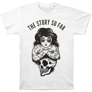 Story So Far Men's  Girl & Skull T-shirt White