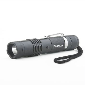 Guard Dog ElectroLite Concealed Stun Gun-Flashlight Black