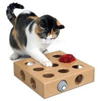 Smart Cat Peek A Prize Toy Box W/2 Toys