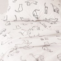 Cat Nap Sheet Set | Urban Outfitters