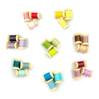 Mini Washi Tape Set: 24 pcs / 8 set of Trio Set by Mark's / Washi Tape Sampler 1 yard / Washi Tape Spool