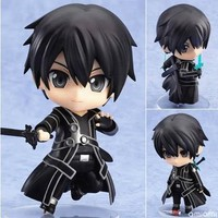 Anime Sword Art Online Kirito Nendoroid #295 PVC Figure NO Box
