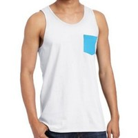 O'Neill Men's Zion Tank Top, White, Medium