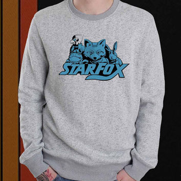 Starfox sweater Sweatshirt Crewneck Men or Women Unisex Size