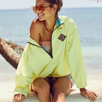 Gotcha For UO Nylon Pop Over Windbreaker Jacket | Urban Outfitters