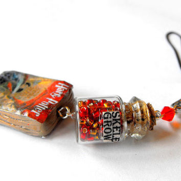 Harry potter potion cellphone charm your choice by bottledwonders