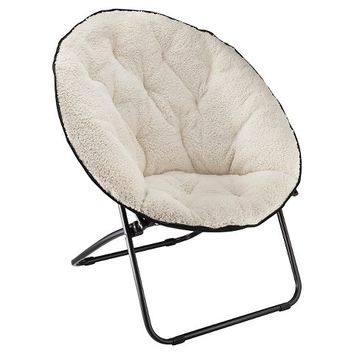 Room Essentials™ Sherpa Dish Chair