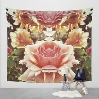 KaleidoFlowers pt. II Wall Tapestry by DuckyB (Brandi)