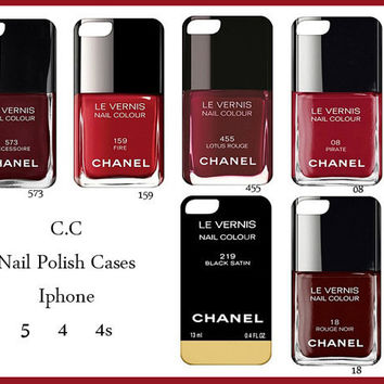 Iphone 5/4/4s Case-Nail Polish Iphone Cover-nail varnish iphone 5-nail polish iphone 4-nail polish iphone 5-nail polish iphone 4s
