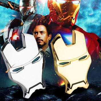 3D Metal Iron Man for Car Emblem Stickers Decoration The Avengers Car Styling Decals Exterior Accessories for mazda KIA ford BMW