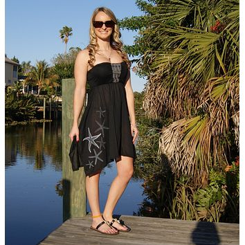 Shore Side Southern Starfish Trail Comfort Dress