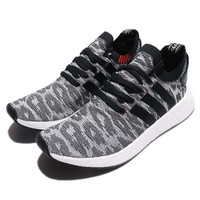 adidas Originaks NMD_R2 PK PrimeKnit BOOST Black White Men Running Shoes BY9409