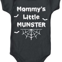 Kid's Mommy's Little Munster Onesuit - Black