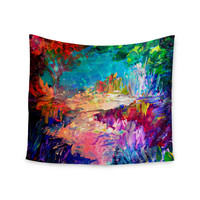"Ebi Emporium ""Welcome to Utopia"" Rainbow Wall Tapestry"