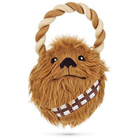 "STAR WARS Chewbacca Plush Dog Tug Toy, 5"" L X 4"" W"