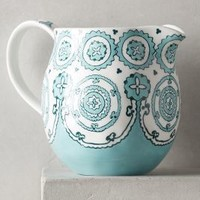 Gloriosa Pitcher by Anthropologie in Mint Size: Pitcher Serveware