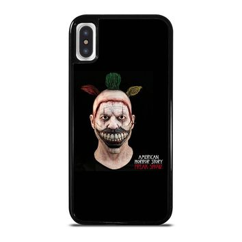 AMERICAN HORROR STORY TWISTY THE CLOWN iPhone X / XS case
