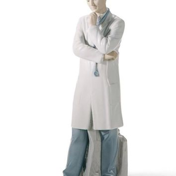 Male Doctor Figurine. Fair skin by Lladro