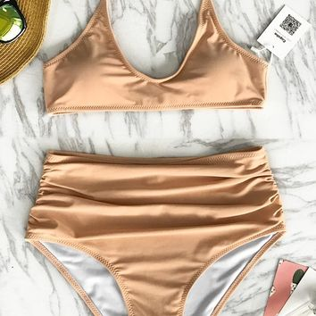 Cupshe Find Your Bliss High-waisted Bikini Set