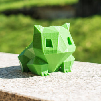 Bulbasaur planter - 3d Printed Pokemon
