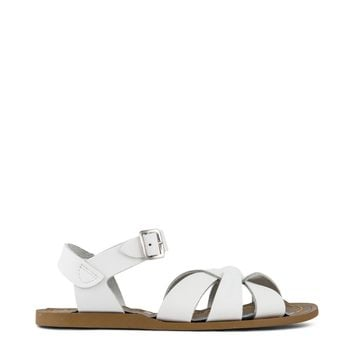 Salt Water Sandal Girls - White