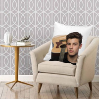 Shawn Mendes Photoshoot pillow pillow one and two side == pillow custom, white pillow full color pillow