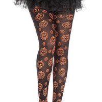 Pumpkin Pattern | PANTYHOSE