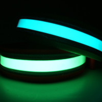 Glow in the Dark Reflective Dog Collar Large: 18""