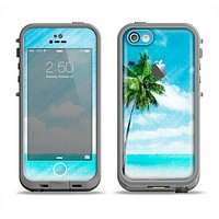 The Paradise Beach Palm Tree Apple iPhone 5c LifeProof Fre Case Skin Set