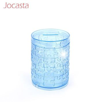 Crystal Puzzle Piggy Bank