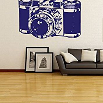 Wall Decal Vinyl Sticker Decals Art Decor Design Photographer Camera Photo Pictures Family Office House Hobby Style Dorm Bedroom(r710)