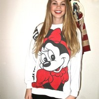 London Loves LA — AMAZING Minnie Mouse Sweatshirt