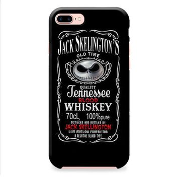 Jack Skellington Whiskey Daniels iPhone 8 | iPhone 8 Plus Case
