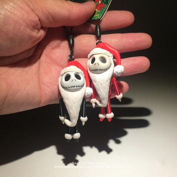 Disney The Nightmare Before Christmas Jack 6cm Action Figure Posture Anime Decoration Collection Figurine Toy model for children