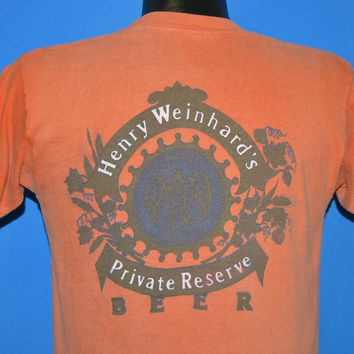 70s Henry Weinhard's Private Reserve Beer t-shirt Medium