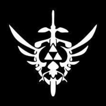 Zelda Gamer Vinyl Car Decal Window Wall