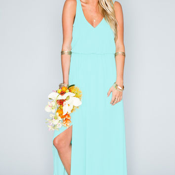 Show Me Your mumu Kendall Maxi Dress ~ Sea Glass