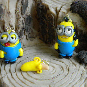Despicable Me charm your choice of one Minion with one Banana charm