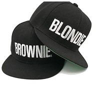 Blondie & Brownie Friendship Hats