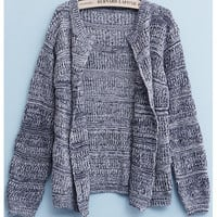 'The Viviana' Mixed Color Knitted Cardigan